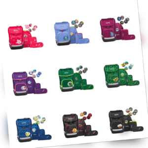 Ergobag Cubo LIGHT Ranzen-Set Schulranzen 5-tlg. Neu! verschiedene Farben!