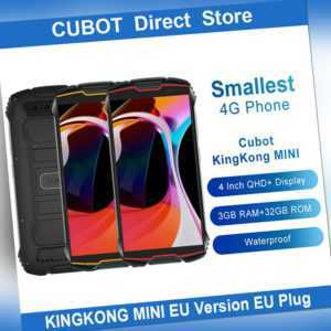 "CUBOT KINGKONG MINI Outdoor 4"" Smartphone 4G Dual SIM 32GB 2000mAh Handy Android"