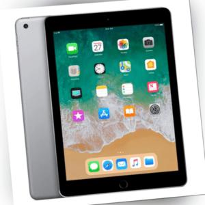 Apple iPad 2017 5 Generation 9,7 Zoll A1823 Wi-Fi Wlan 128GB Spacegrau Wie Neu