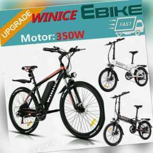 "26"" Mountainbike Elektrofahrrad Shimano Falten E-Bike Pedelec Citybike 8AH DE"