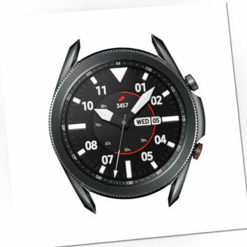 Samsung Galaxy Watch 3 LTE 45mm SM-R845 Smartwatch Schwarz  + Ridge Sport Band