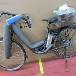 TELEFUNKEN RC840 City Pedelec anthrazit E-Bike Damen Citybike 36V 13AH