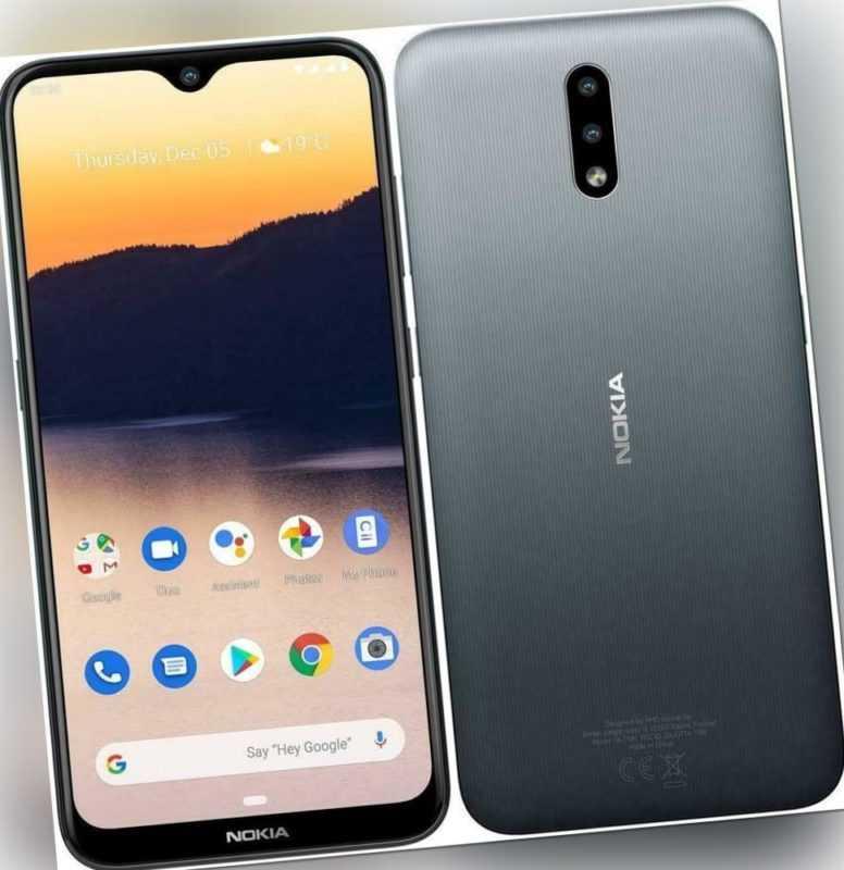 Nokia 2.3 Dual-SIM anthrazit 32GB Smartphone - WIE NEU - VOM DEUTSCHEN HÄNDLER!