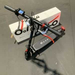Moovi E-Scooter mit Straßenzulassung 120kg Schwarz mehrere Fehler#63