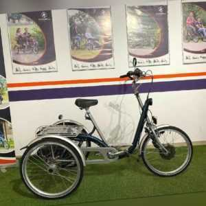 Van Raam Maxi Therapeutisches Elektro Dreirad mit Neuwertige 11Ah Lithium Akku