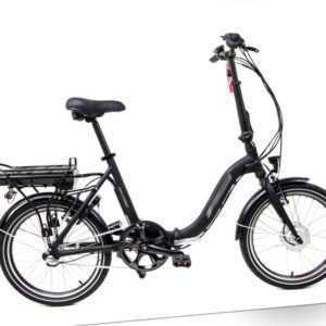 20 Zoll Klapprad 36V Elektro Fahrrad Faltrad 3 Gang schwarz 374Wh