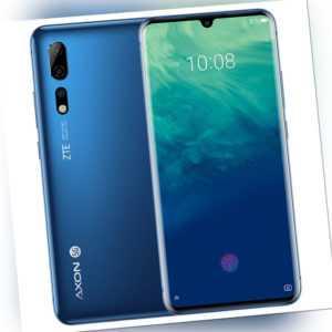 ZTE Axon 10 Pro 5G Android Smartphone Blue 8GB+256GB Neu in OVP...