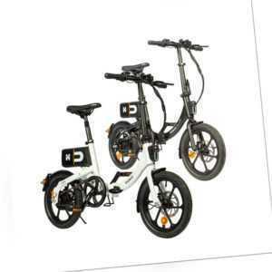 HOME DELUXE E-Bike Citybike Elektrofahrrad Klapprad Faltrad Fahrrad 16 Zoll USB