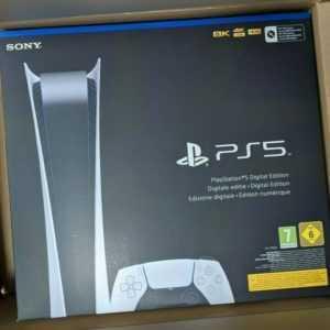 Sony Playstation 5 Konsole - PS5 Digital Edition -  NEU & OVP
