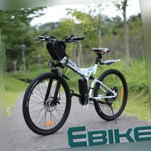 Elektrofahrrad Mountainbike E-bike 26 Zoll E-Citybikes 250W E-Faltrad Pedelec DE