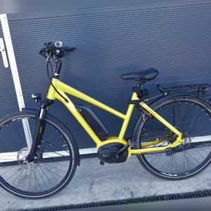 "Velo De Ville Fahrrad E-Bike Pedelec 28"" mit Bosch 400 Akku Motor gelb gebraucht"