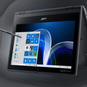 "ACER Acer TravelMate Spin B3 (TMB311RN-31-P5KK), 2in1 11,6"",4 GB RAM, 128 GB SSD"
