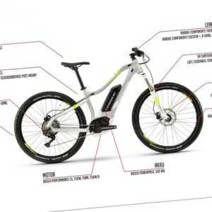 27.5 Zoll Haibike SDURO HardSeven Life 4.0 E Bike Pedelec 500Wh Shimano Gr.XL