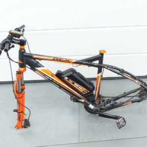 "Prophete Rex Bergsteiger 6.8 Fahrrad E-Bike MTB 29"" mit Trio Akku unvollständig"