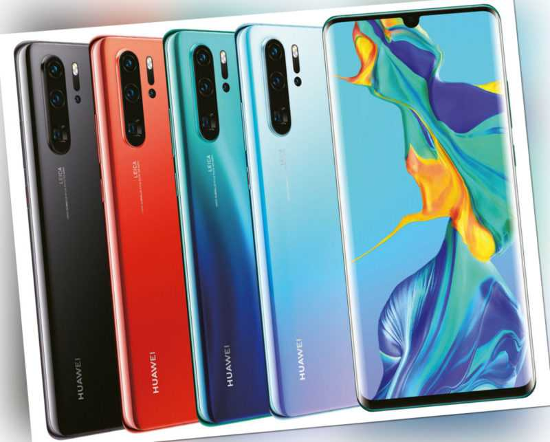 Huawei P30 Pro 128GB 256GB Android Smartphone 6,47 Zoll Sehr Gut -...