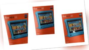 Amazon Fire HD 8 Kids Edition 32GB, Wi-Fi, 8 Zoll - Pink / Blau / Violette