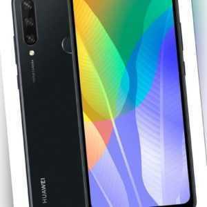 Huawei Y6p midnight black 64 GB RAM 3 GB MED-LX9N Dual Sim...