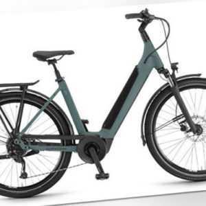 """Winora Sinus 9 Einrohr Unisex E-Bike Trekking 27,5"""" 2021 darkslategrey ma. RH 50"""