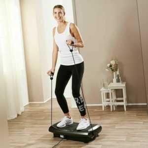 Vibrationsplatte Shape Massage 4D Heimtrainer Fitness Ganzkörper FB Expander