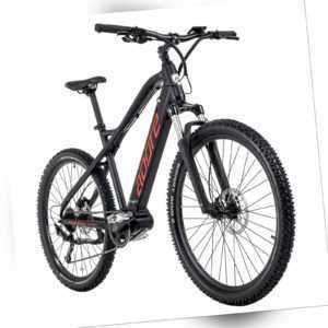 """E-Bike MTB 27,5"""" Adore Pedelec Xpose 9 Gänge schwarz 250W 36V/14Ah 222E"""