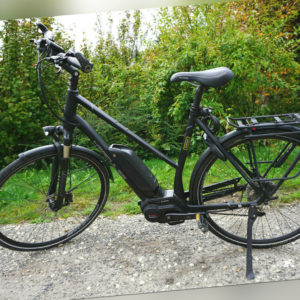 """A021-905: Hercules Futura 10 Trekkingrad Citybike E-Bike Unisex schwarz 28"""""""