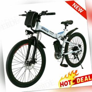 Elektrofahrrad 26''E BIKE E Mountain bike 250W Herren/Damen CityBike Unisex DE
