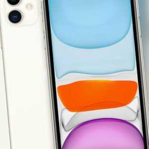 APPLE iPhone 11 256 GB 6,1 Zoll 12MP Dual Kamera DualSIM weiß MHDQ3ZD/A B-Ware