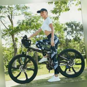 VIVI Ebike 26 Zoll Elektrofahrrad Damen/Herren 250W Pedelec Citybike Faltbares